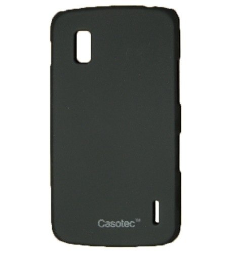 Casotec Ultra Slim Hard Shell Back Case Cover for LG Nexus 4 E960 - Black  available at amazon for Rs.125