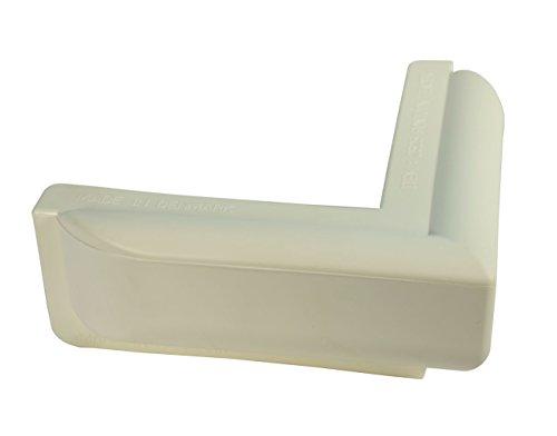 Dan-Fender Stegfender für Ecken - 250 x 250 x 100 mm, Farbe:weiß