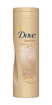 Dove sunshine bright lotion 250 ml, end of self tanning body lotion by Dove