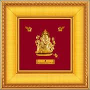 A9 Ganesha - Prima Art 24Karat Pure Gold Sheet Artwork