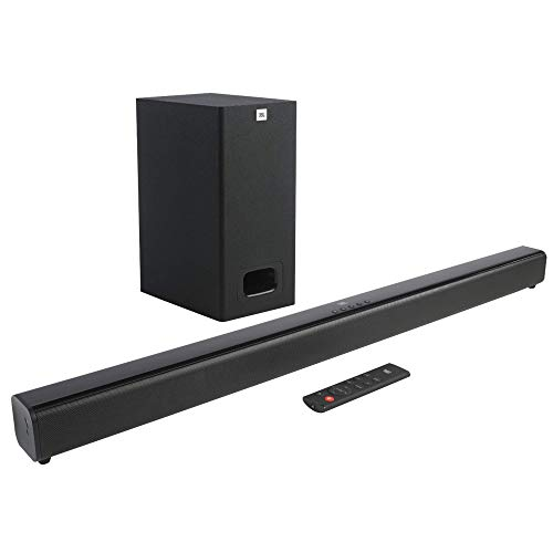 JBL Cinema SB130 2.1 Channel Soundbar with Wired Subwoofer (110...