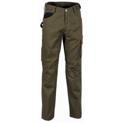 Cofra 40-00V014 - Pantaloni da lavoro Walklander, 290 g/m² secondo la norma EN 340, 40-00V01402-98 Fango