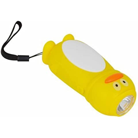 Status SDUCKLEDWUTX4 1 LED Wind Up Dynamo Torch Duck by Status International