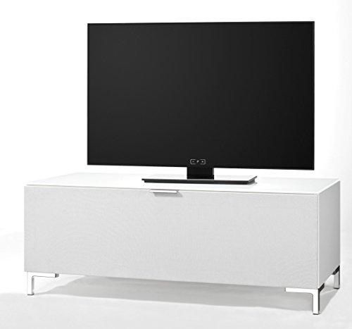 CS Schmalmöbel 45.012.221/008 TV-Board Cleo Typ 10, 109 x 50 x 44 cm, wildeiche mit Stoffklappe - 2