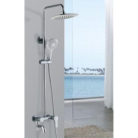ODJG Kit di docce calde e fredde bagno doccia ascensore per 3 documento , doccia Deluxe)