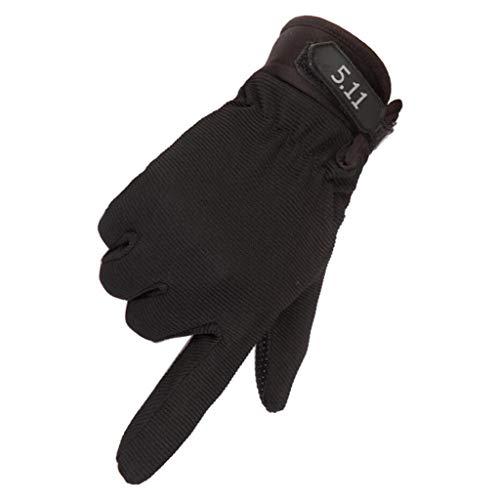 Clearance Star Wars Kostüm - QIMANZI QIMANZ Motorradhandschuhe Taktische Handschuhe Vollfinger Handschuhe für Motorrad Fahrrad Airsoft Militär Paintball Outdoor-Aktivitäten(D Schwarz)
