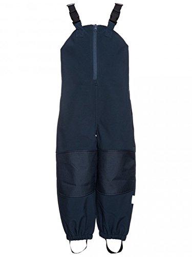 Name it Kinder Softshell Regenhose Latzhose dunkelblau, Größe:104, Farbe:dress blues