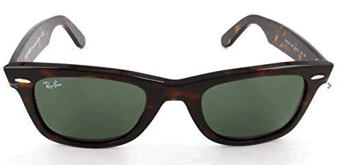 Ray-Ban RB2140 Original Wayfarer Sonnenbrille 50mm, Beige (886/51), 50mm