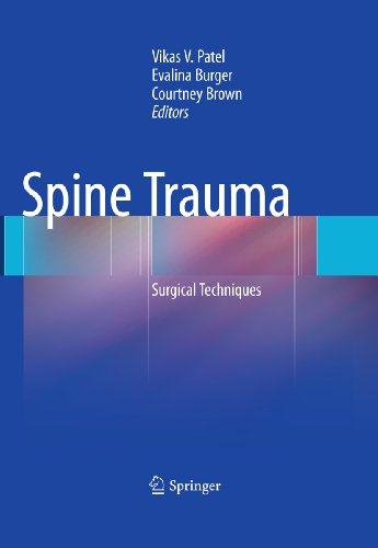 Spine Trauma: Surgical Techniques (English Edition)