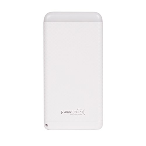 Power Ace PRP5000PLA Slim Li-Polymer Power Bank with LED Torch