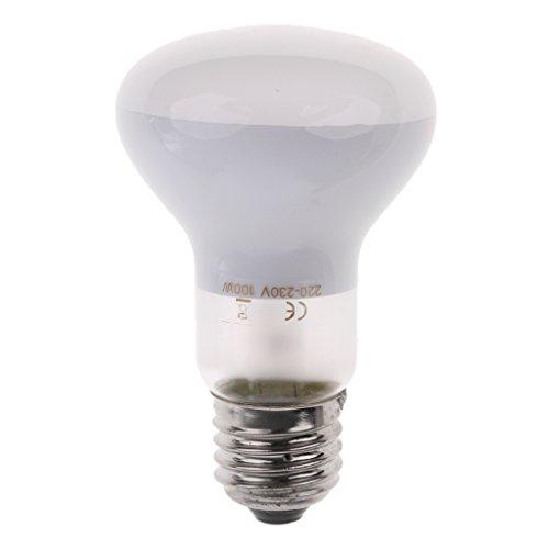 Homyl E27 Terrarium Lampen Wärme Spot Lampe Sonnenlicht Mondlicht UVA Lampe für Reptilien - 100 Watt