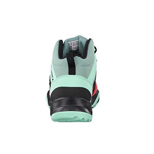 adidas Terrex Ax2r Mid Cp K, Chaussures de Randonnée Mixte Enfant Rose (Rostac/negbas/versen)