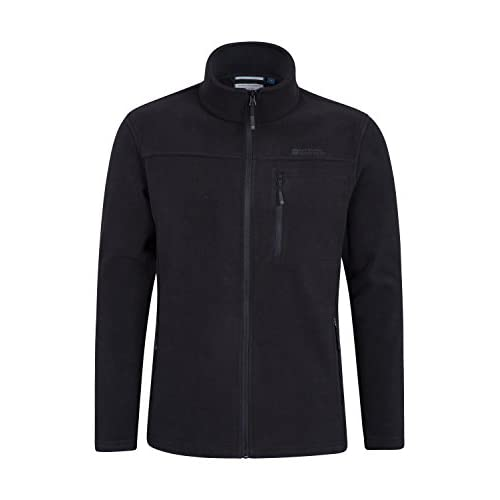 31zDghQUFKL. SS500  - Mountain Warehouse Buchanan Mens Fleece - Warm Jacket, Quick Drying Sweater, Breathable Pullover, Chest Pocket -Ideal for Winter Layering, Travelling