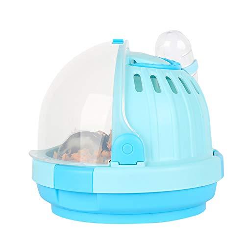 Creativo Portátil Pequeño Animal Carrier Hamster Carry Case Jaula para Hamster Sirio Enano Hamster Mouse y Pequeños Animales