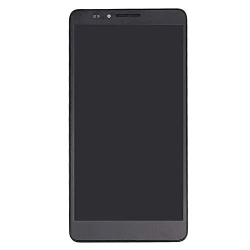 Bjhengxing Wander Bildschirm for Huawei Mate 7 LCD-Bildschirm und Digitizer gesamte Baugruppe mit Rahmen (schwarz) (Farbe : Black)