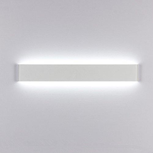 6W Spiegelleuchte Flurleuchte Badleuchte Kaltweiß Badlampe 240mm Schranklampe Wandleuchte Edelstahl Wasserdicht Weiß