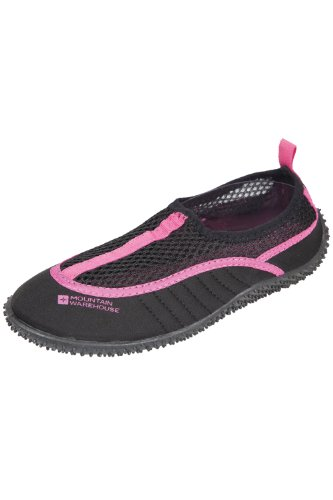 Mountain Warehouse Chaussures Aquatiques enfant fille Garçon Confort Accroche Bermuda Rose Vif