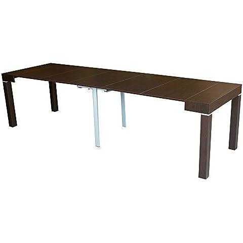 Tavolo consolle allungabile rovere