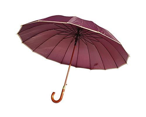 Paraguas XXL 134 cm clásico 16 Varillas Antiviento
