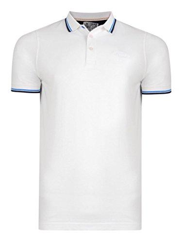 Lee Cooper Herren Poloshirt Weiß