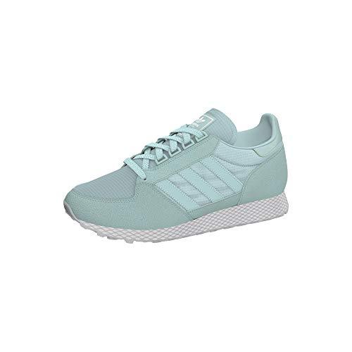 adidas Damen Forest Grove W Fitnessschuhe, Grün Blanub/Vercen 0, 38 2/3 - Laufschuhe Grün Adidas