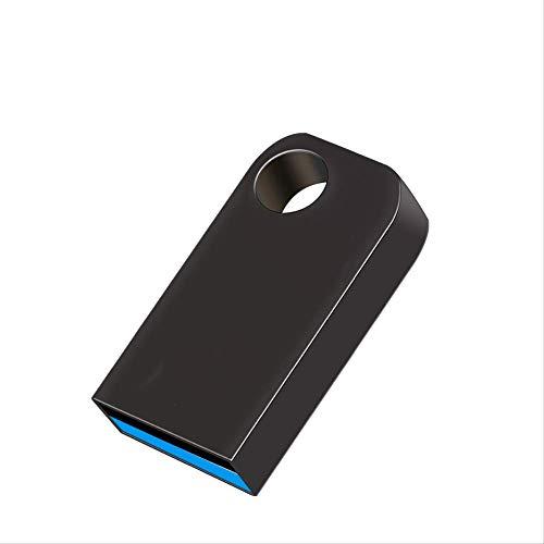 USB 3.0 Pendrive 8 GB 16 GB 32 GB Mini-Metall-Hochgeschwindigkeits-USB-Flash-Laufwerk 64 GB USB-Stick Wasserdichtes USB-Flash-Laufwerk grau 128 GB -