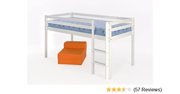 d0d390754c14 Comfy Living 3ft (90cm) Mid Sleeper Bunk White Finish: Amazon.co.uk: Kitchen  & Home