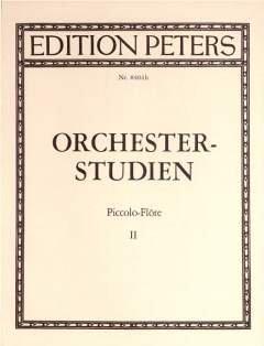 ORCHESTERSTUDIEN 2 - arrangiert für Piccoloflöte (Piccolo) [Noten / Sheetmusic] Komponist: NITSCHKE K