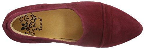 Think! Imma, Ballerines femme Rouge - Rot (Cranberry 73)
