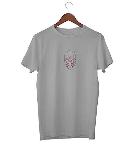 on Tribal Mask_KK017520 Shirt T-Shirt für Männer Herren Tshirt for Men Gift for Him Present Birthday Christmas - Men's - XL - White ()