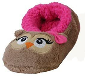 Chaussons Fantaisie animaux femme -Hibou - Taille 36-39