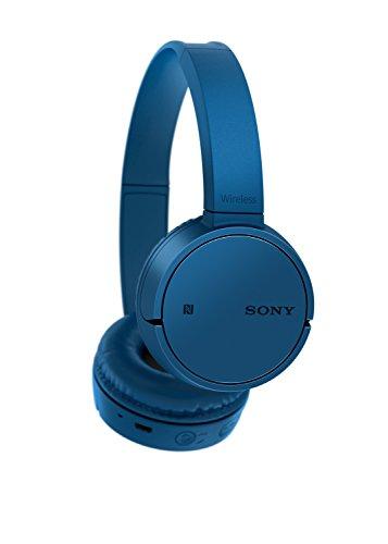 Sony WHCH500L.CE7 - Auriculares inalámbricos de Diadema, diafragma de 30 mm, Manos Libres