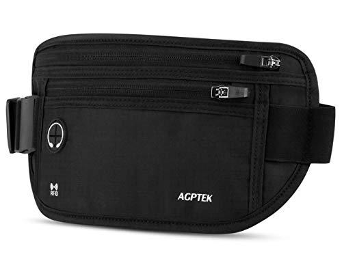AGPTEK Riñonera de Viaje con Tecnología RFID