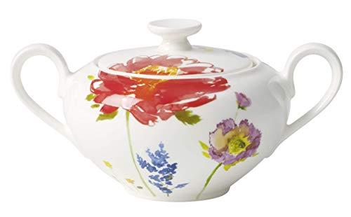 Villeroy & Boch 10-4444-0960 Anmut Flowers Zucker-/Marmeladendose, Porzellan