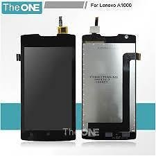 100% Original Combo LCD Display+Touch Screen Digitizer Assembly For Lenovo A1000 -Black