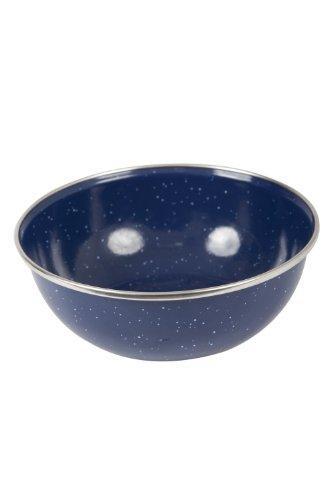mountain-warehouse-enamel-camping-picnic-bbq-walking-hiking-travel-durable-lightweight-bowl-blue