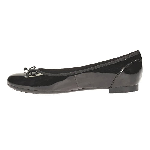 Clarks Couture Bloom Wide Fit Nero