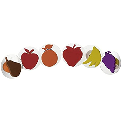 Set of 6 Fruit Giant Stampers W