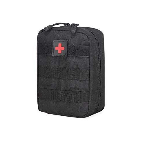 Mcdobexy Tactical MOLLE ifak Medical Utility Tasche Erste Hilfe Patch, schwarz -