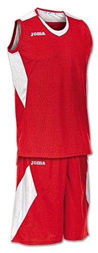 Joma Set Space Basketball Trikot-Set rot-weiß rot/weiß, 3XL