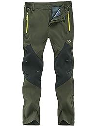 716064594581 Freiesoldaten Uomo All aperto Pantaloni Arrampicata Cargo Softshell Leggero  Traspirante Impermeabile Pantaloni