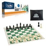 WE Games Tournament Style Chess Set with...