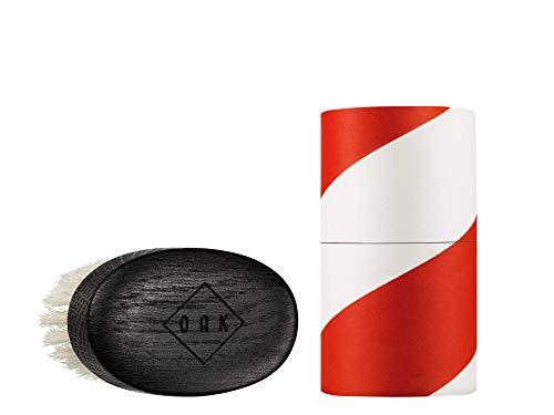 OAK BEARD BRUSH SOFT I Brosse à barbe (92x51mm): met en forme les barbes courtes à l'aide de poils souples qui protègent la peau. Stylisation de la barbe pour les hommes à barbe courte.