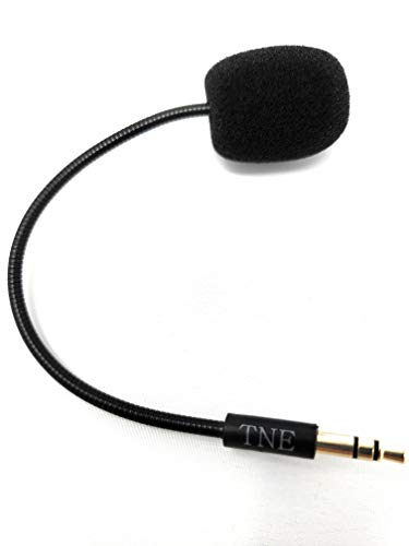 Ersatz HyperX Game Mikrofon TNE 3,5 mm Mikrofon Boom nur für Kingston HyperX Cloud Alpha PS4 Xbox One Nintendo Switch Computer PC Gaming Headsets Audio Pro Wireless-headset