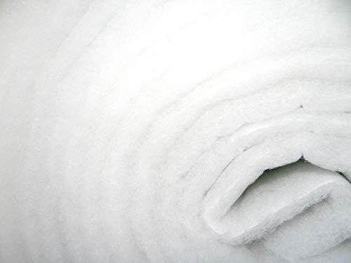 G3 EU3 Vorfilter 2m x 1m ca. 20 mm progressiv aufgebaut - 250g/m² Filtervlies Vliesmatte Staubschutz Filtermatte Luftfilter Vlies Filter Lüftungsanlage Staub Vorfilter -