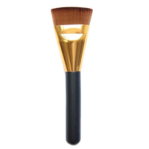 Contour Design Beauté Maquillage visage fond de teint poudre blush Pinceau plat