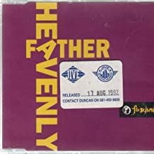HEAVENLY FATHER CD - JIVE 1992 5 TRACK W/ STICKER B/W TEMPTED TO TOUCH MURDER MIX, MAIN MIX, BEAT MIX, TEMPTED TO TOUCH INSTRUMENTAL MIX AND RING THE ALARM (JIVECD315)