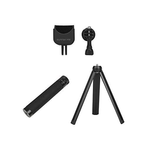 Poonkuos Erweiterbar Stange Mit Faltbar Stativ - Fixiert Halterung Mount Handheld Selfie Stock mit 1/4 Schraube Adapter Kit für DJI Osmo Pocket Pole Mount Adapter Kit