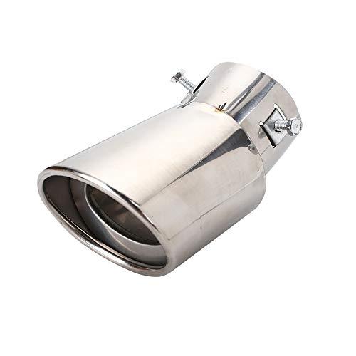 ZZH Auto-Schalldämpfer-Spitzen-Rohr-Durchmesser 63-86mm Edelstahl-Geräusch-Verminderung-hintere Auto-Endrohr-Auspuff-Endstück