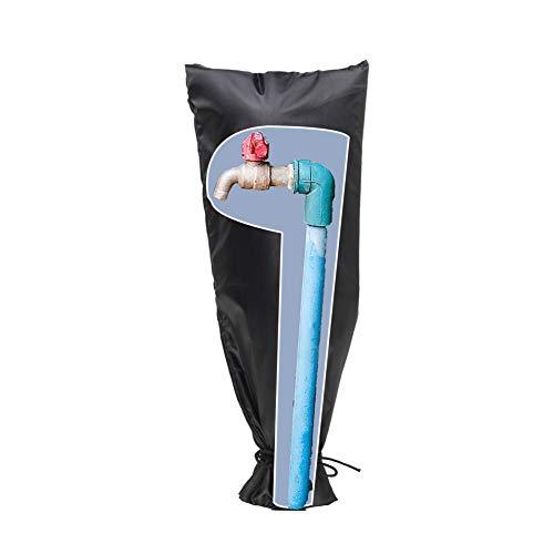 HONCENMAX Außen Wasserhahn Hülle Schutz - Garten Wasserhahn Abdeckung für Frostschutz - Wasserdichte Wasserhahn Abdeckung Von Einfrieren